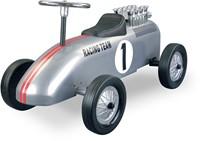 Retro Roller  loopauto Racinteam zilver Brett