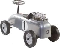Retro Roller  loopauto Racinteam zilver Brett-3