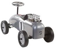 Retro Roller  loopauto Racinteam zilver Brett-2
