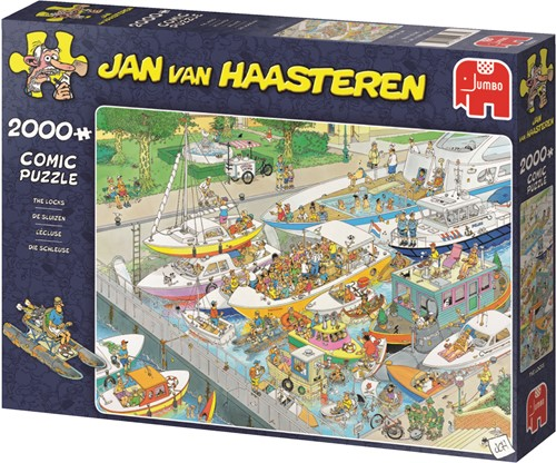 Jumbo puzzel Jan van Haasteren De Sluizen - 2000 stukjes