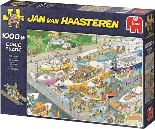 Jumbo puzzel Jan van Haasteren De Sluizen - 1000 stukjes