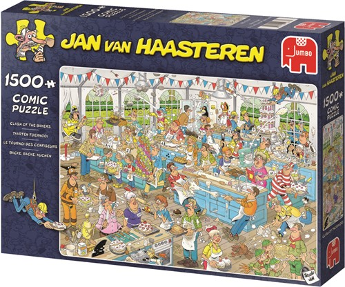 Jumbo puzzel Jan van Haasteren Taarten Toernooi - 1500 stukjes