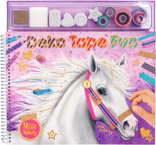 Miss Melody kleurboek met mask ing tapes