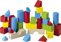 Haba  houten bouwblokken Gekleurde blokken (30 blokken)-1