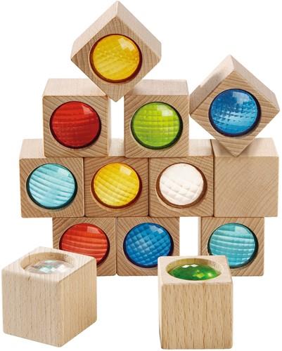 Blokken - Uitbreiding - Prismastenen (13 blokken)
