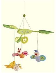 Haba  babymobiel Bloemenvlinder