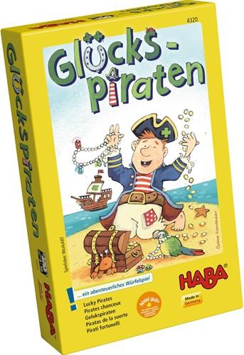 HABA Spel - Gelukspiraten (Duitse verpakking met Nederlandse handleiding)