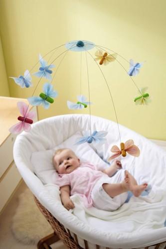 Haba  babymobiel Vlindervrienden-2
