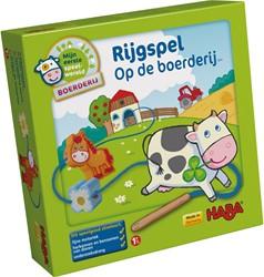 HABA Mijn eerste speelwereld - Boerderij - Rijgspel Op de boerderij