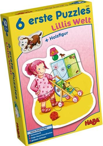 HABA 6 eerste puzzels - Lilli's wereld