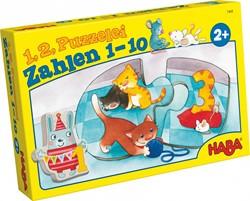 Haba legpuzzel 1, 2 puzzel mee - Getallen 1 - 10