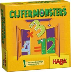 HABA Supermini Spel - Cijfermonsters