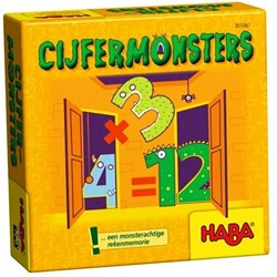Haba  reisspel Supermini Cijfermonsters 301061