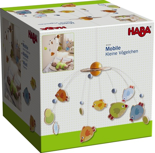 Haba  Babymobiel Vogeltjes-3