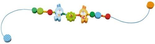Haba  box en maxi cosi speelgoed Wagenspanner Haas Flips vrienden 301303-1