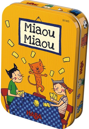 HABA Spel - Miauw Miauw (Franse verpakking met Nederlandse handleiding)