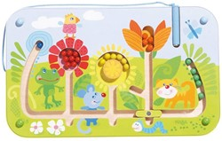 Haba  kinderspel Magneetspel Bloemenlabyrint