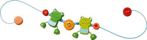Haba  box en maxi cosi speelgoed Wagenspanner Kikkervrienden 300582-1