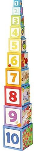 Haba  leerspel Stapelblokken Rapunzel-1