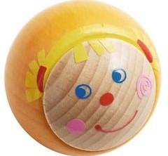 Haba Rollebollen houten knikkerbaan accessoires Effectknikker Kati 302072