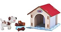 Haba  Little Friends poppenhuis pop Hond Lucky