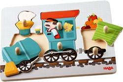 Haba  houten vormenpuzzel Trein