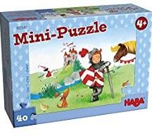 Haba  legpuzzel Minipuzzel Ridder - 40 stukjes