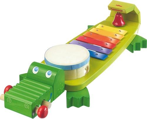HABA muziekinstrument klankkrokodil
