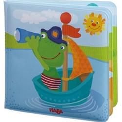 Haba - Badspeelgoed - Badboek Kapitein Kikker