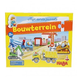 Haba - Mijn eerste puzzels - Bouwterrein