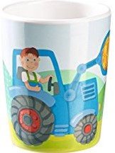 Haba - Kinderservies - Beker Tractor