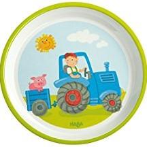 Haba - Kinderservies - Bord Tractor