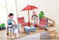 HABA Little Friends - Poppenhuismeubels Terras-2