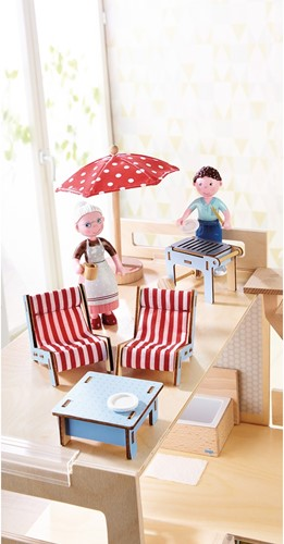 HABA Little Friends - Poppenhuismeubels Terras-3