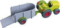 HABA Little Friends - Trekker met aanhangwagen-2