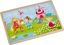 HABA Houten puzzel Prinsessen