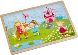 Haba Houten legpuzzel Prinsessen 24 stukjes