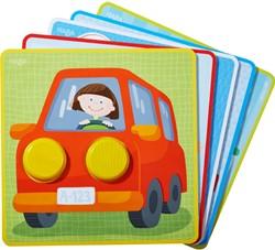 Haba Ordeningsspel Kakelbonte voertuigwereld