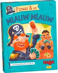 Haba kaartspellen Piraat & co – Miauw miauw