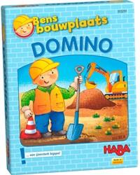 Haba spellen Bens bouwplaats Domino