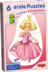 Haba legpuzzel 6 eerste puzzels Prinses