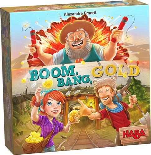HABA Spel - Boom, bang, goud! (Duitse verpakking met Nederlandse handleiding)