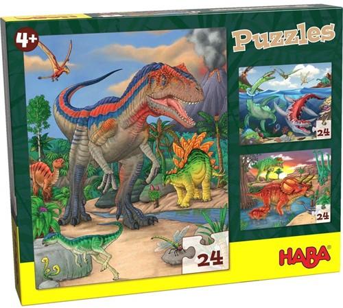 HABA Puzzels Dinosaurussen