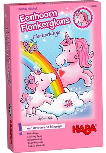 HABA Spel - Eenhoorn Flonkerglans - Flonkerbingo (Nederlands)