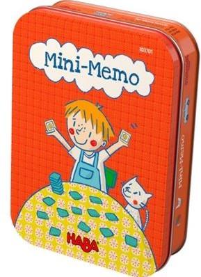 HABA Spel - Mini-memo (Duitse verpakking met Nederlandse handleiding)