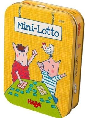 HABA Spel - Mini-lotto (Duitse verpakking met Nederlandse handleiding)