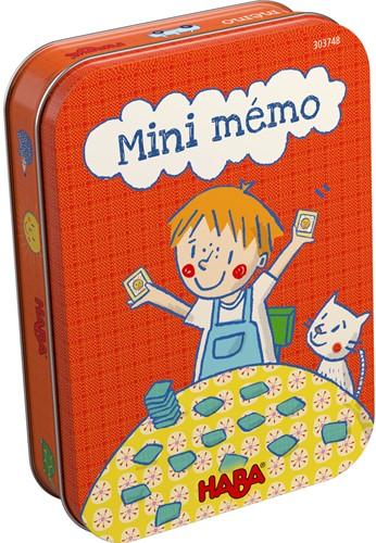 HABA Spel - Mini-memo (Franse verpakking met Nederlandse handleiding)
