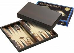 Philos houten backgammon kasette Melos