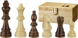 Philos houten schaakstukken Remus - Koningshoogte 70mm