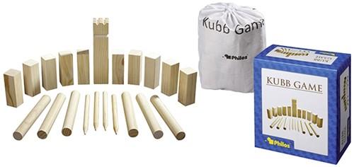 Philos houten buitenspel Kubb - Grenenhout